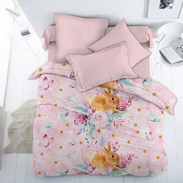 Комплект полутораспальный Весенний зайка Вальтери DTX_DL-19-282