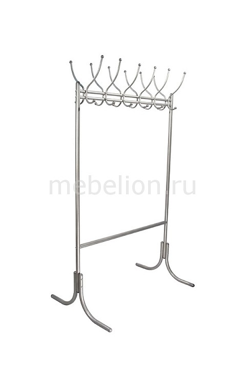 Вешалка гардеробная М-11 металлик
