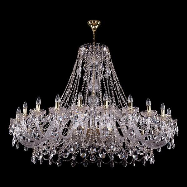 Подвесная люстра 1411/24/530-115/G Bohemia Ivele Crystal  (BI_1411_24_530_115_G), Чехия