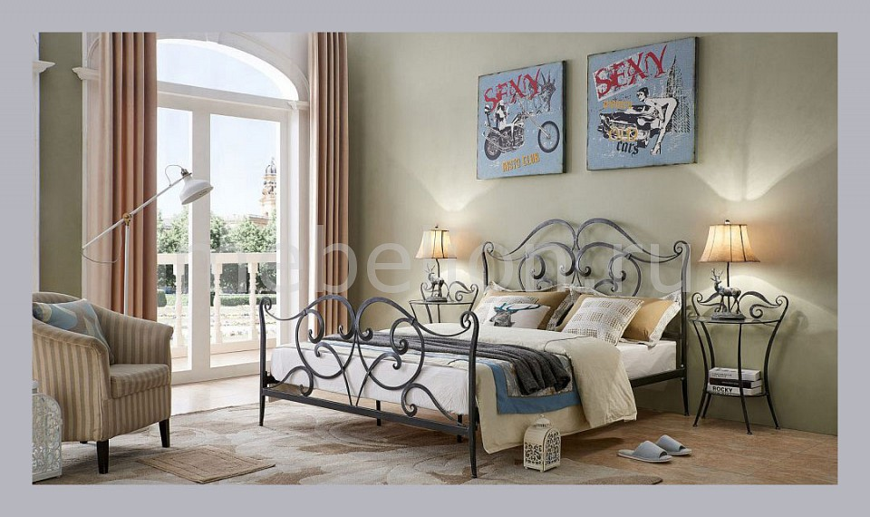 Спальня ESF ESF_TDF06009_TDFN001-S_160 от Mebelion.ru