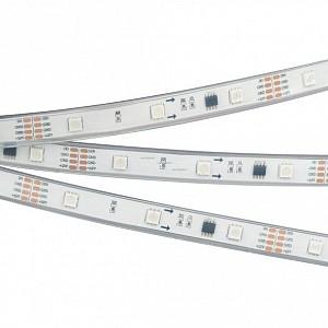 Лента светодиодная [5 м] SPI-5000PGS-5060-30 12V Cx3 RGB-Auto (12mm, 6.5W/m, IP67) 029443