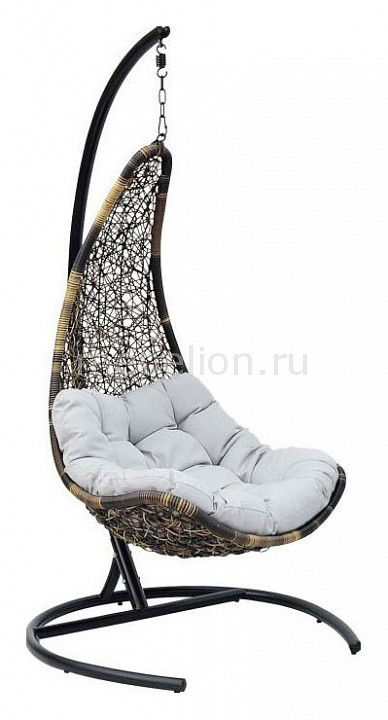 Кресло подвесное Экодизайн Wind white rattan sofa purple cushions garden outdoor patio sofa rattan furniture swing pool table chair rattan sofa set