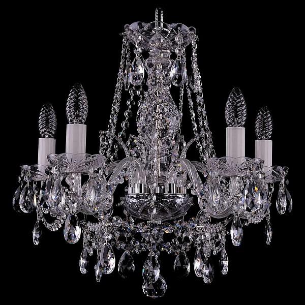 Подвесная люстра 1411/5/160/Ni Bohemia Ivele Crystal  (BI_1411_5_160_Ni), Чехия