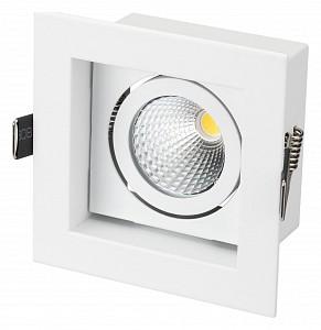 Встраиваемый светильник Cl-kardan CL-KARDAN-S102x102-9W Warm (WH, 38 deg)