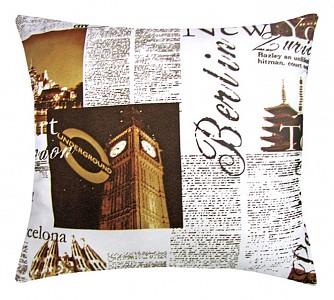 Подушка декоративная (45х45 см) Ньюз
