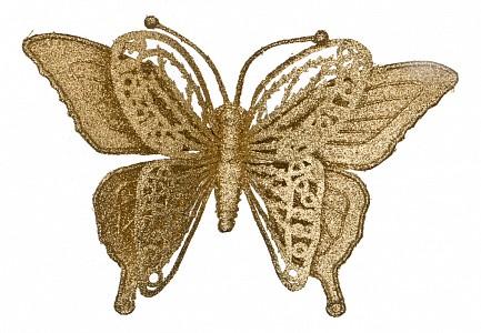 Украшение декоративное (17 см) Бабочка 241-2448
