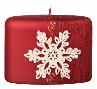 Свеча декоративная (12x9x6 см) Снежинка 348-590