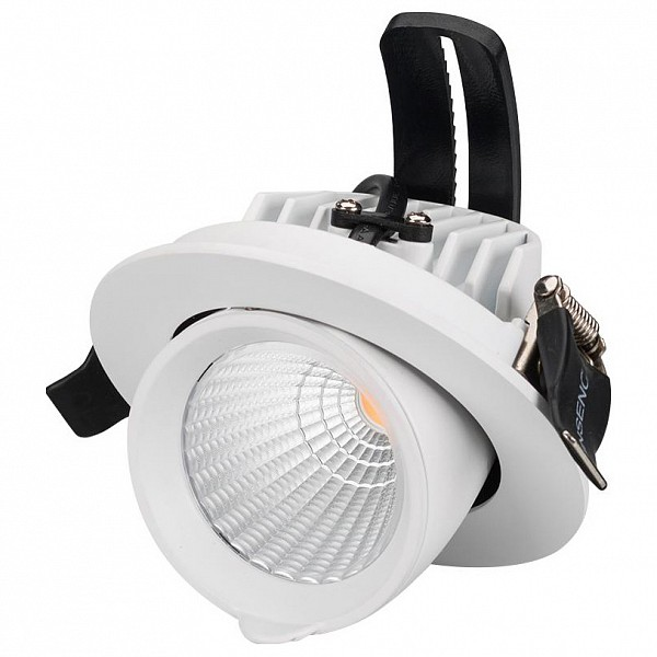 Встраиваемый светильник Ltd-Explorer LTD-EXPLORER-R100-12W Warm3000 (WH, 38 deg) фото