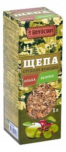 Щепа для копчения (1 л) Ольха-Яблоня 61529