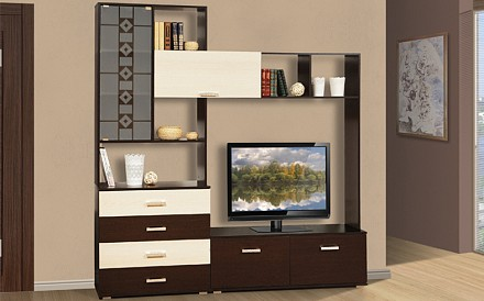 Стенка под телевизор Болеро TRM_06_293_02