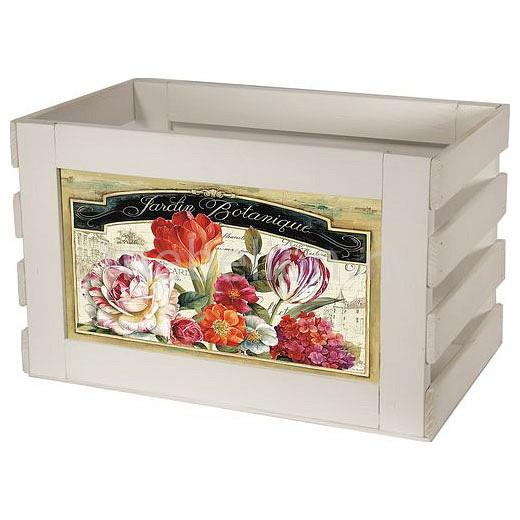 Ящик декоративный Акита Тюльпаны 838W