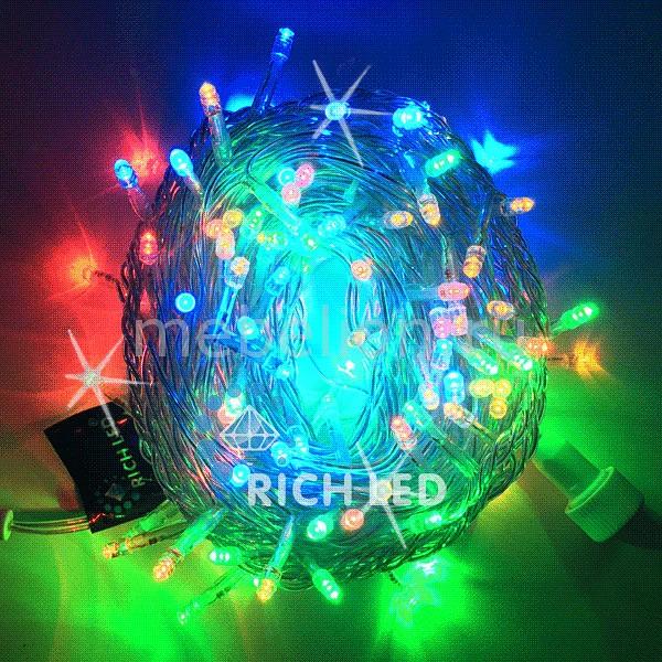 Электрогирлянда RichLED RL_RL-S10CF-220V-CW_M от Mebelion.ru