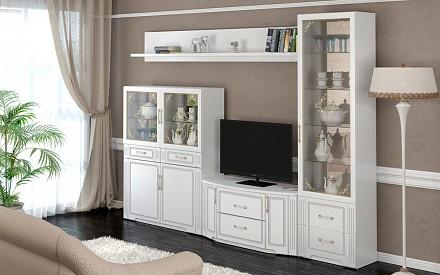 Стенка под ТВ для гостиной Виктория IZH_Viktorya_system_3