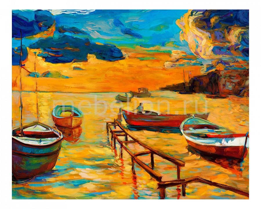 Панно Ekoramka (50х40 см) Лодки 1751008