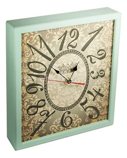 Настенные часы Акита (34х30 см) Узор 3034-22 цена 2017