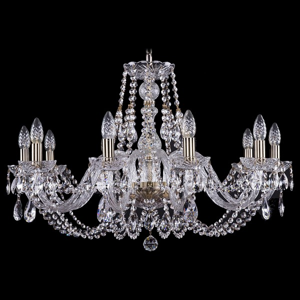 Подвесная люстра 1406/10/300/Pa Bohemia Ivele Crystal  (BI_1406_10_300_Pa), Чехия