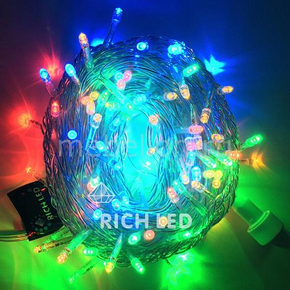 Электрогирлянда RichLED RL_RL-S10C-220V-CW_M от Mebelion.ru