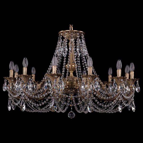 Подвесная люстра 1702/12/300/C/FP Bohemia Ivele Crystal 1702/12/335/C/FP  (BI_1702_12_335_C_FP), Чехия