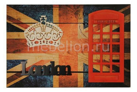 Панно Акита (60х40 см) Лондон 9783 панно акита 26х50 см лофт 9809