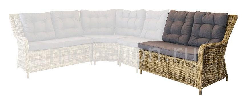 Секция для дивана 4sis Бергамо уличная мебель 4sis