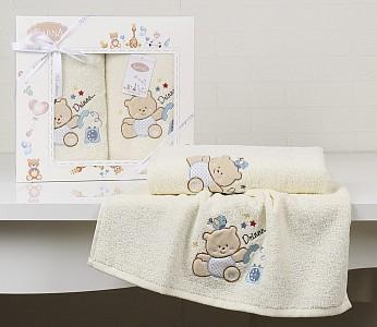 Набор из 2 полотенец детских BAMBINO-BEAR