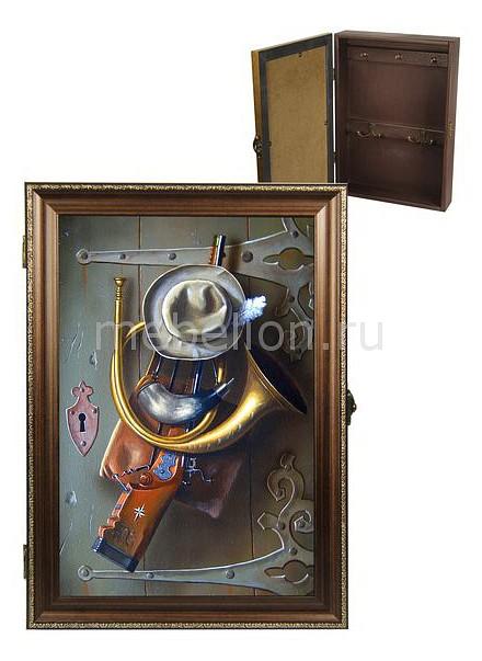 Ключница Акита (24х34 см) Охота 312-32 ключница акита 23х33 см каретная стяжка 7360