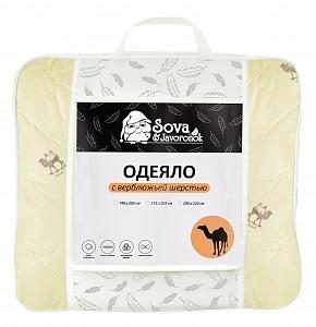 Одеяло двуспальное Верблюжья шерсть СиЖ
