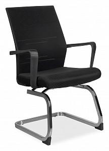 Кресло RCH G818 Чёрная сетка на полозьях (крутящееся)