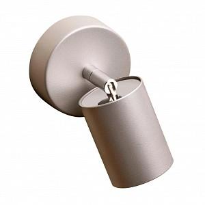 Спот поворотный Eye Spot Silver, 1 лампы GU10 по 35 Вт., 1.6 м², цвет серебро матовый