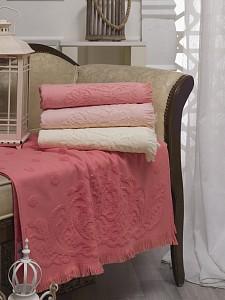 Набор из 4 банных полотенец (70x140 см) Damask
