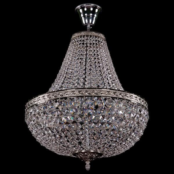 Люстра на штанге 2150/40/Ni Bohemia Ivele Crystal  (BI_2150_40_Ni), Чехия