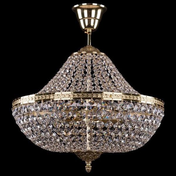 Люстра на штанге 2160/40/G Bohemia Ivele Crystal 2160/40/GD  (BI_2160_40_GD), Чехия