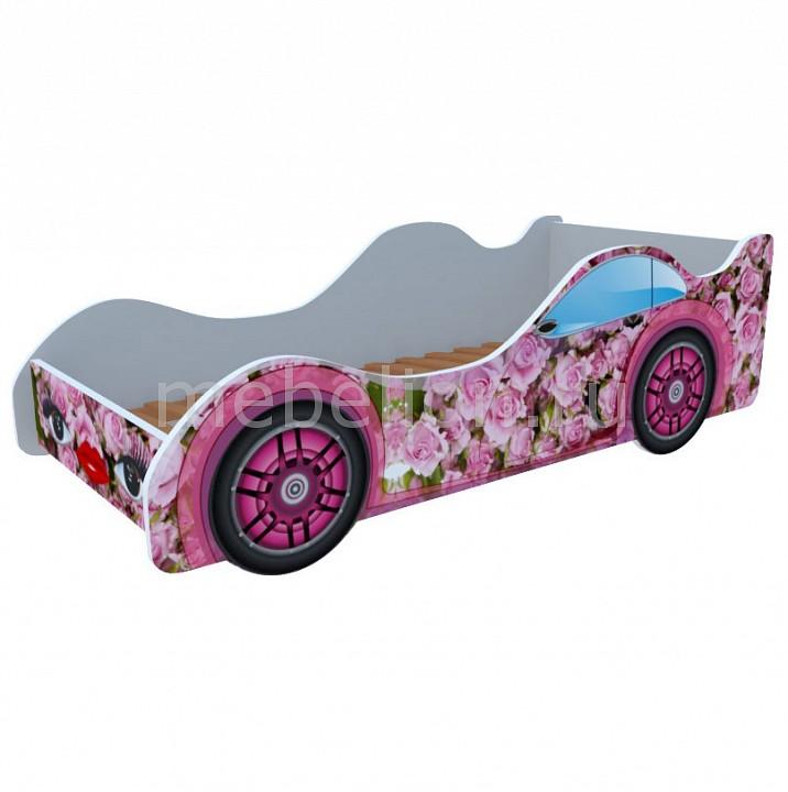 Купить Кровать-Машина Розовые Розы M034