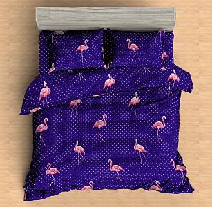 Постельное белье полутораспальное BZ Flamingo