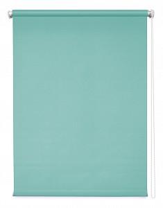 Штора рулонная Плайн 180x4x175 см., цвет аквамарин