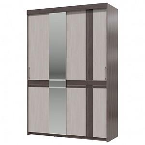 Зеркальный шкаф-купе Презент TRM_4-4019bod-tem-sv-MDF