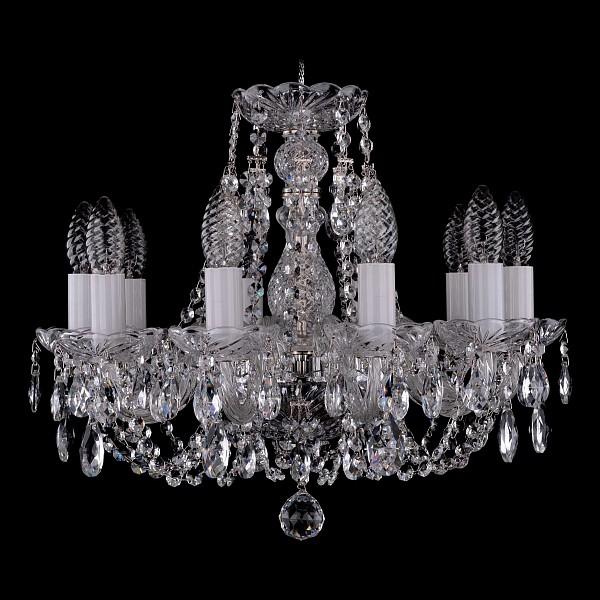 Подвесная люстра 1406/10/141/Ni Bohemia Ivele Crystal  (BI_1406_10_141_Ni), Чехия