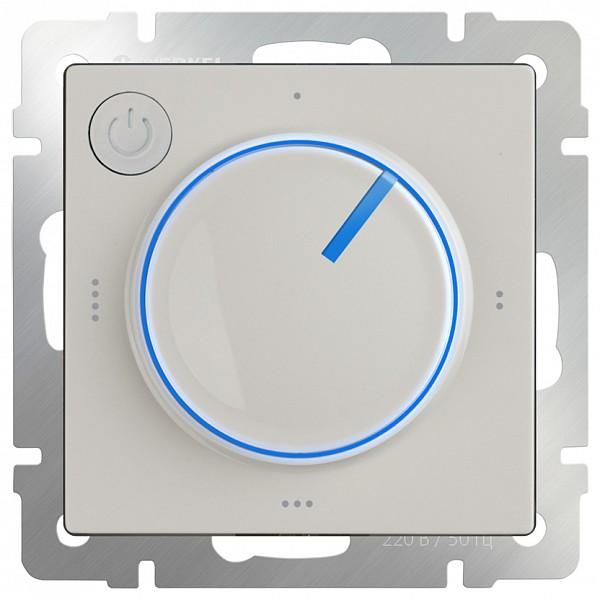 Терморегулятор электромеханический для теплого пола Слоновая кость WL03-40-01