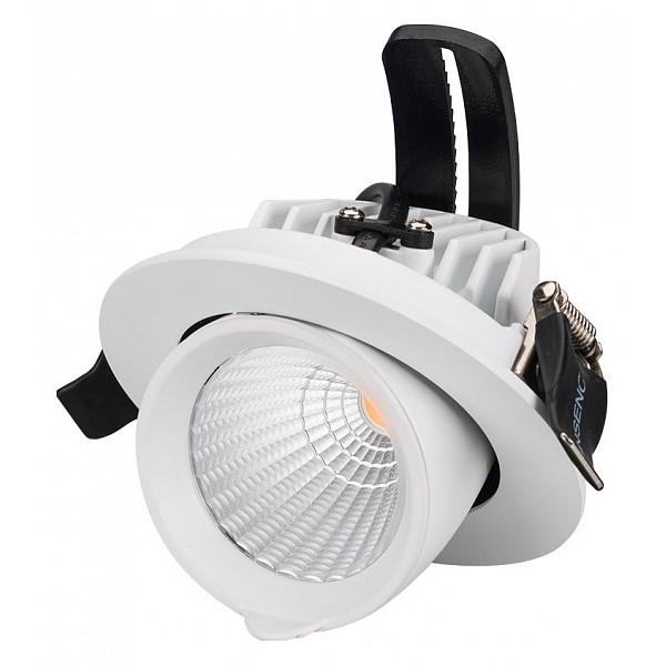 Встраиваемый светильник Ltd-Explorer LTD-EXPLORER-R100-12W Day4000 (WH, 38 deg) фото