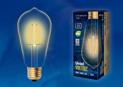 Лампа светодиодная Golden E27 220-240В 5Вт золото LED-ST64-5W/GOLDEN/E27 GLV22GO
