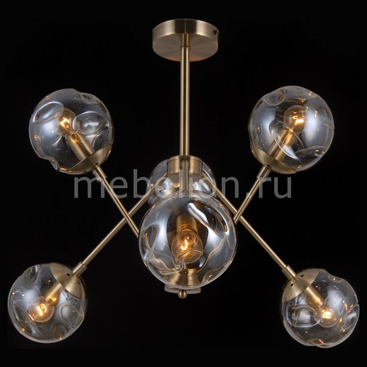 Купить Люстра на штанге MOLECULE 81045-6C ANTIQUE BRASS, Natali Kovaltseva