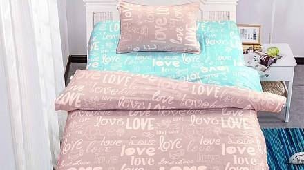 Комплект постельного белья в кроватку Лав Стори SDM_4627142391337