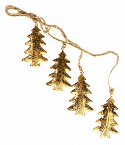 Елочная гирлянда (65x11 см) Golden Trees en_ny0026