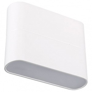 Накладной светильник Sp-wall-1 SP-Wall-110WH-Flat-6W Warm White