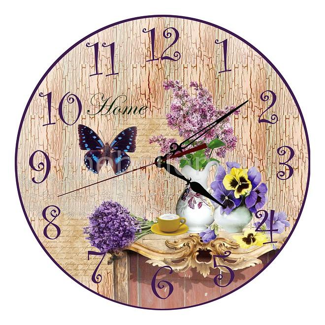 Купить Настенные Часы (30 См) Сирень C36