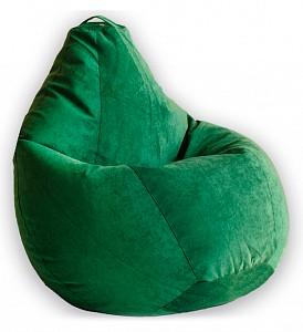 Кресло-мешок Зеленый Микровельвет L