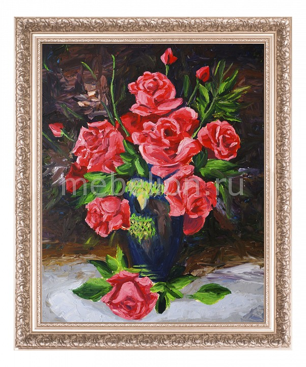 Панно Ekoramka (40х50 см) Букет роз 1722005