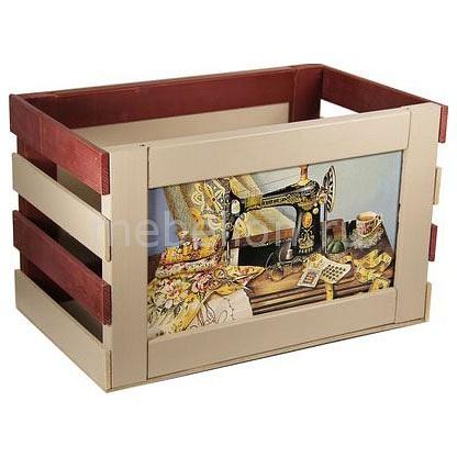 Ящик декоративный Акита Швейная машинка 827 машинка швейная малютка 1259155