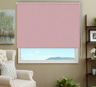 Штора рулонная Blackout 160x170 см., цвет розовый кварц