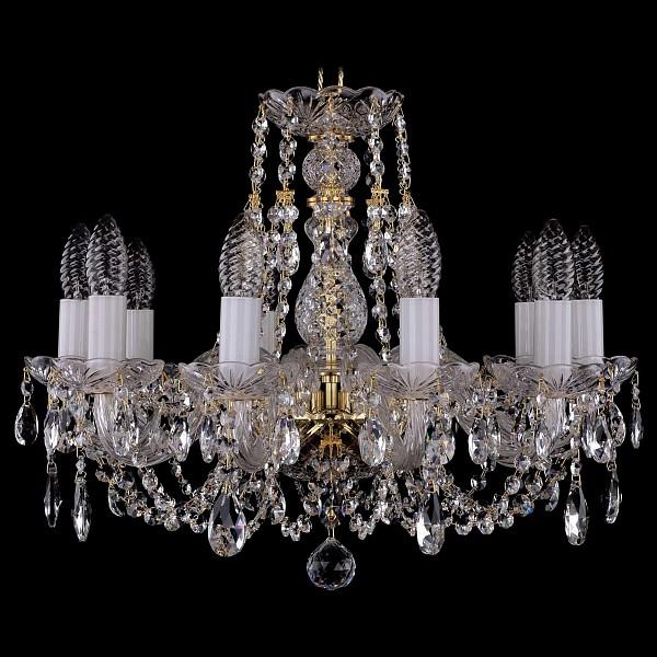 Подвесная люстра 1406/10/160/G Bohemia Ivele Crystal  (BI_1406_10_160_G), Чехия
